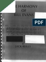 Harmony of Bill Evans