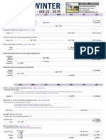2015-16 Fall-Winter Schedule Cresskill With Flex