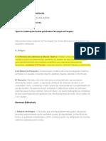 Revista Psicologia e Pesquisa.