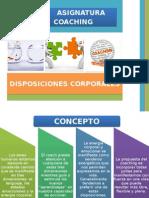 Disposiciones Corporales 2015