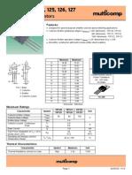 Datasheet transistor TIP 120