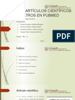 Tipos de Artículos Científicos y Filtros en Pubmed