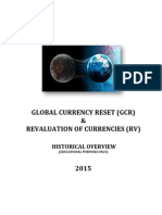 Global Currency Reset - Revaluation of Currencies - Historical Overview