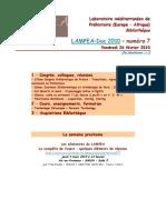 LAMPEA-Doc 2010 – numéro 7 / Vendredi 26 février 2010
