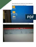 Procedimiento ESD y F&G