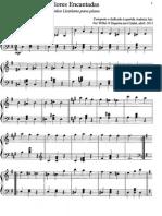 Flores Encantadas - Valsa brilhante para piano