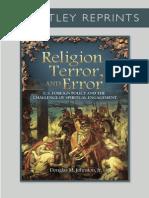 Religion, Terror, & Error