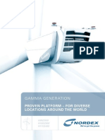 Nordex N90 Turbine Specs Sheet