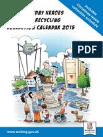 2015 Waste Calendar