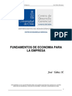 Fundamentos de Economía Para La Empresa