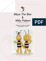 Maya the Bee Willy Pattern by Amigurumibb (1)
