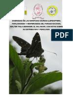 Diversidada de Mariposas El Salvador,Parque Walter Thilo Deinninger