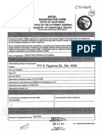 Great Public Schools Los Angeles Dark Money SuperPAC - Articles of Incorporation
