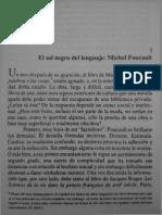 Certeau Sobre Foucault_ El Sol Negro Del Lenguaje