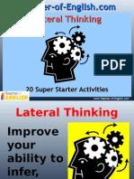 20 Starter Activities