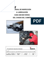 Truck Chassis 200 - 300 hour Lubrication and Inspection Manu Espa+¦ol