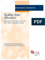 CPR Construction Realistic Risk Allocation Briefing.pdf