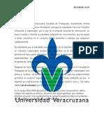 Proyecto de Educación ambiental en la Universidad Veracruzana