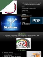 Diabetes Estoma III