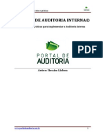 Manual de Auditoria Interna - Ibraim Lisboa