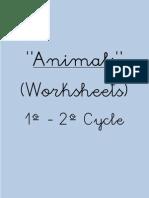 """""""Animals"""" Animals"""" (Worksheets)"""
