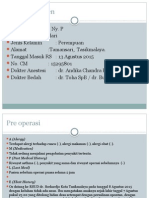 lapkas anestesi pada pasien malformasi anorecti