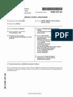 Crestor Patent