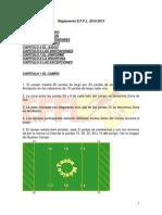 Reglamento Fútbol Flag 7