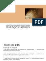 Aula 08 - Código e Formato de Instrução