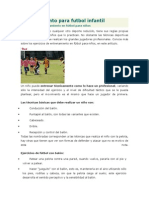 Entrenamiento Para Futbol Infantil
