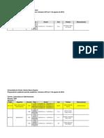 Horarios Intensivo UDONE 2015 Al 11-08-2015
