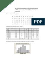 Estadística ejercicios