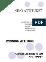 Winning Attitude