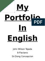 My Portfolio in English