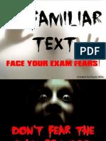 unfamiliartextexamfreakout-140313150623-phpapp01