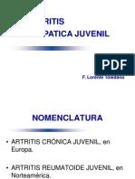 Artritis Reumatoidea Juvenil 2012-2013-Profesor