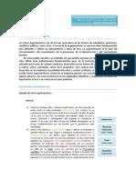 D. ECEd. Texto Argumentativo
