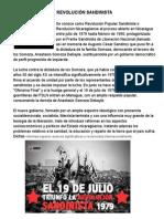 Revolución Sandinista