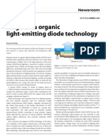 Large-area organic light-emitting diode technology