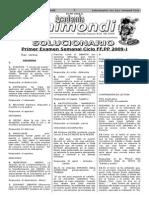 1 Exa - Solucionario Gral - FF.pp 2009-II