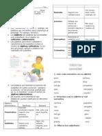 Guia de Estudio Adjetivos y Verbos (1)