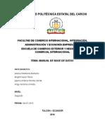 Manual de Base de Datos1