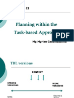 Planning Within the TBL Approach