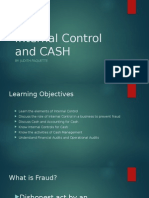Internal Control and Cash