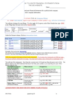 Acct 201 How to Access Financial Statements From the SEC