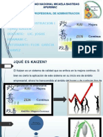 Diapositiva Del Kaizen de Flor Garcia Chavez