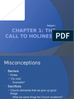 ch1 the call to holiness
