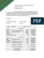 Presupuesto de Apoyo a La Lista Al Concejo de Bucaramanga