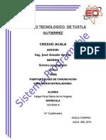 PUERTOS Y BUSES DE COMUNICACIÓN PARA MICROCONTROLADORES