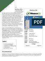Windows ME – Wikipédia, A Enciclopédia Livre